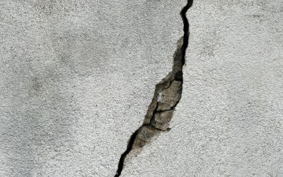 Cracks in Homes Foundation From a Rat Infestation